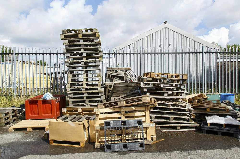 A pallet's lot is not always a happy one!